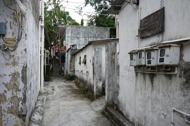 alley in Hetoupu, Zhuhai, China