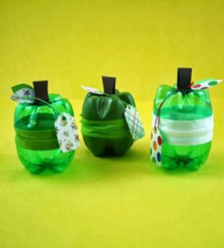 potes de garrafa pet