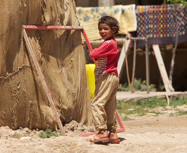 a child in Harran