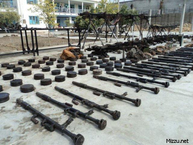 Senjata Sitaan Milik Taliban