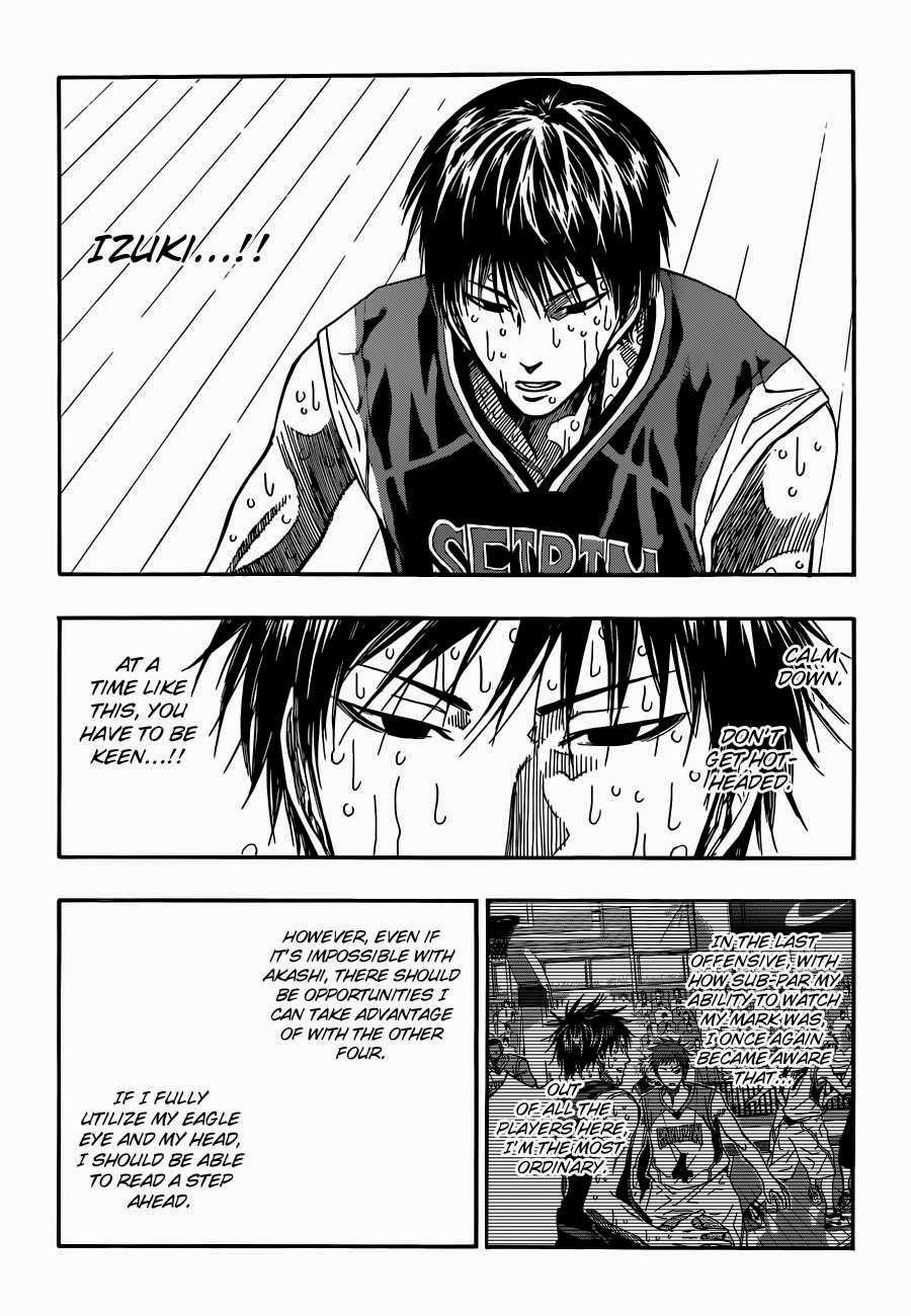 Kuroko no Basket Manga Chapter 272 - Image 15