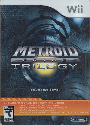 Metroid Prime Trilogy Metal box