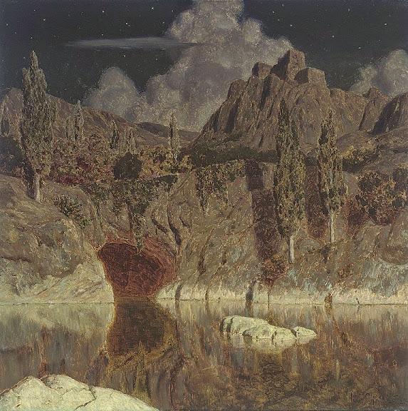 Ivan Fedorovich Choultse - Moonlit lake