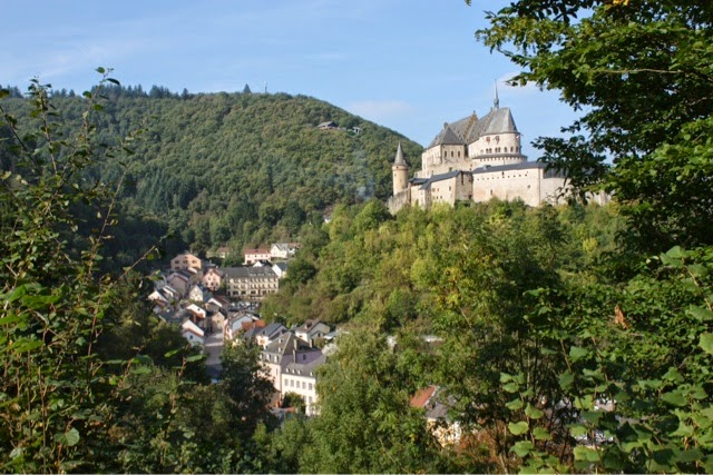 Castle at Vianden, Luxembourg