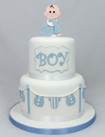 Baby Shower Cakes Bedfordshire