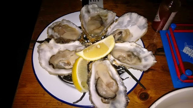 Oysters at Mussel Men
