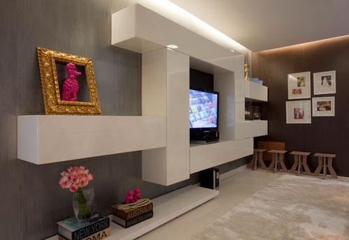 decoracao de interiores moveis planejados:Moveis Modulados em Compensado