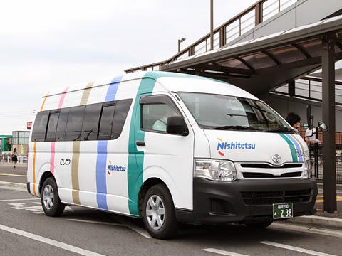 西日本鉄道「橋本駅循環ミニバス」 0502 橋本駅到着