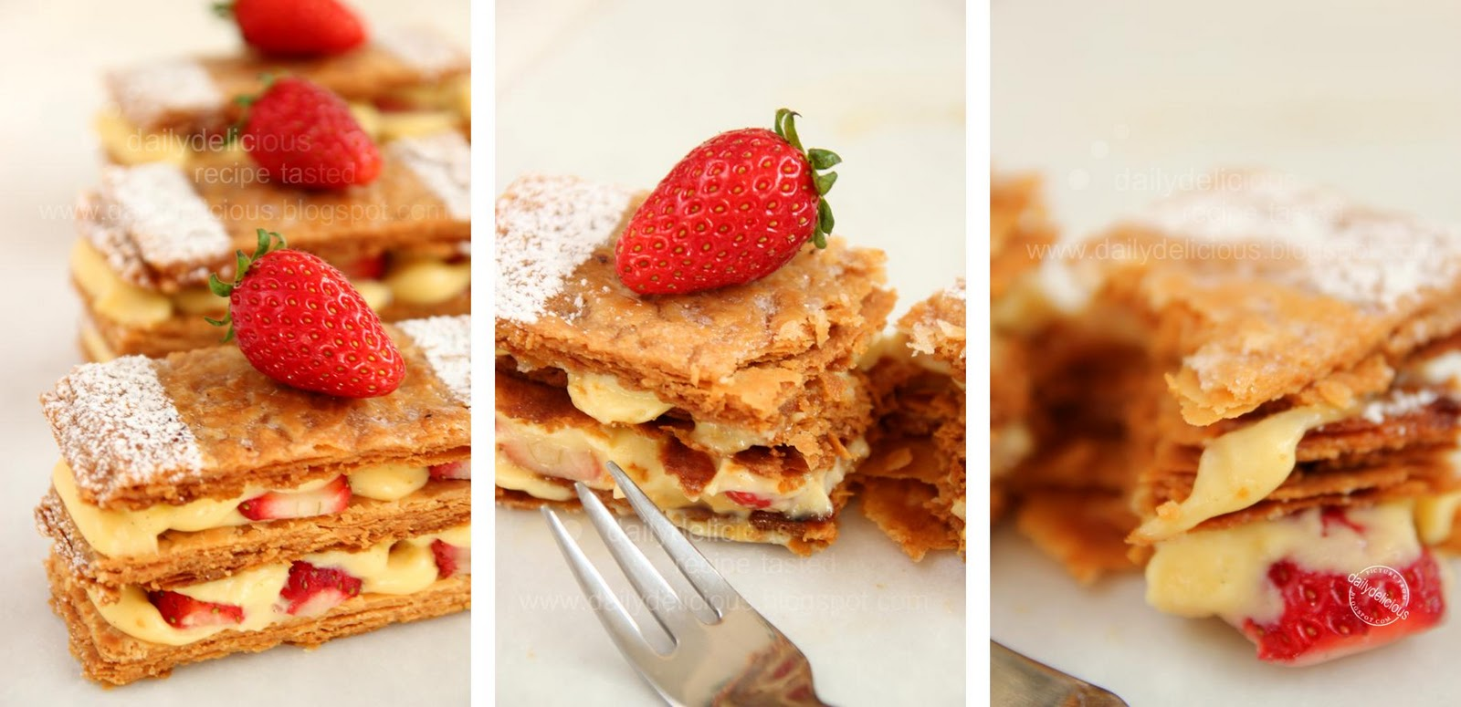 dailydelicious: Mille feuille: Delicious, crunchy, sweet ...