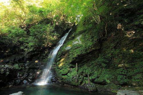 徳島名滝探訪 琵琶の滝のイメージ画像