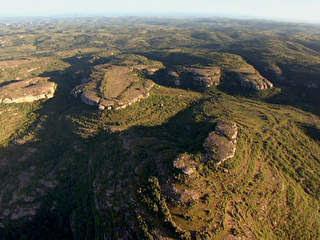 formações rochosas do pampa gaucho