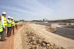 Nueva Estación Depuradora de Aguas Residuales (EDAR) de Algete en 2015