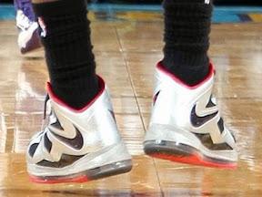 timeline 130329 shoe lebron10 silverhalfredpe 2012 13 Timeline