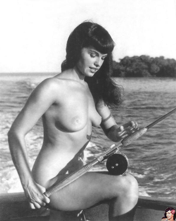 bettie page forever 736   deep sea fishing