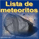 Lista de meteoritos mundialmente mais conhecidos