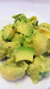 Recipe of Green Mac and Cheese for St Patricks: Green Mac and Cheese for St Patricks: Avocado Mac and Cheese, using cheddar and many green things like avocado, green jalapeno, lime, green onion, cilantro