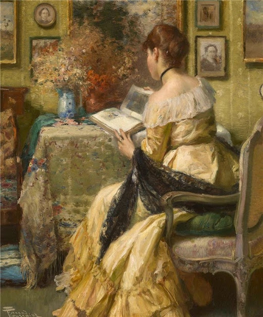 Fernand Toussaint - Afternoon reading