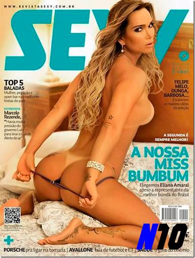 Revista Sexy: Eliana Amaral – Janeiro de 2014