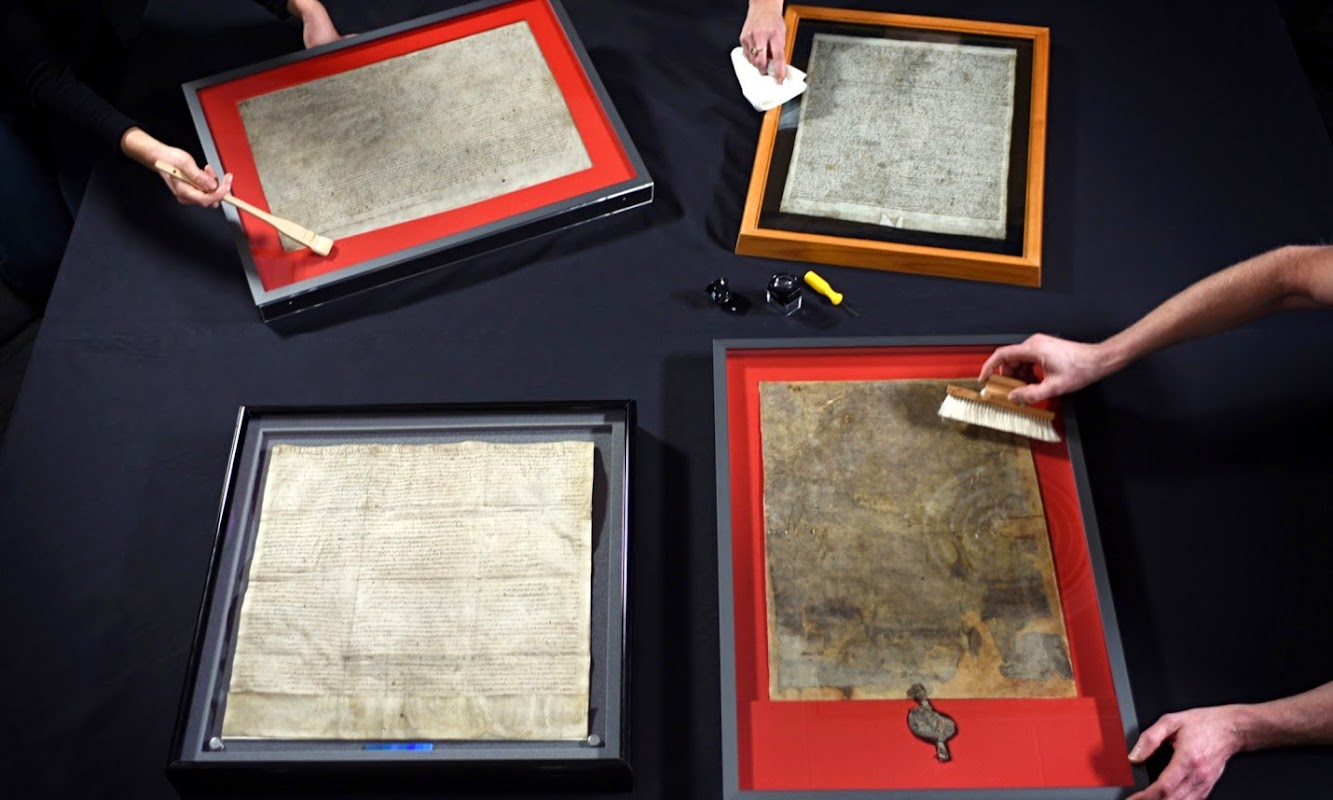 Magna Carta originals reunited for 800th anniversary