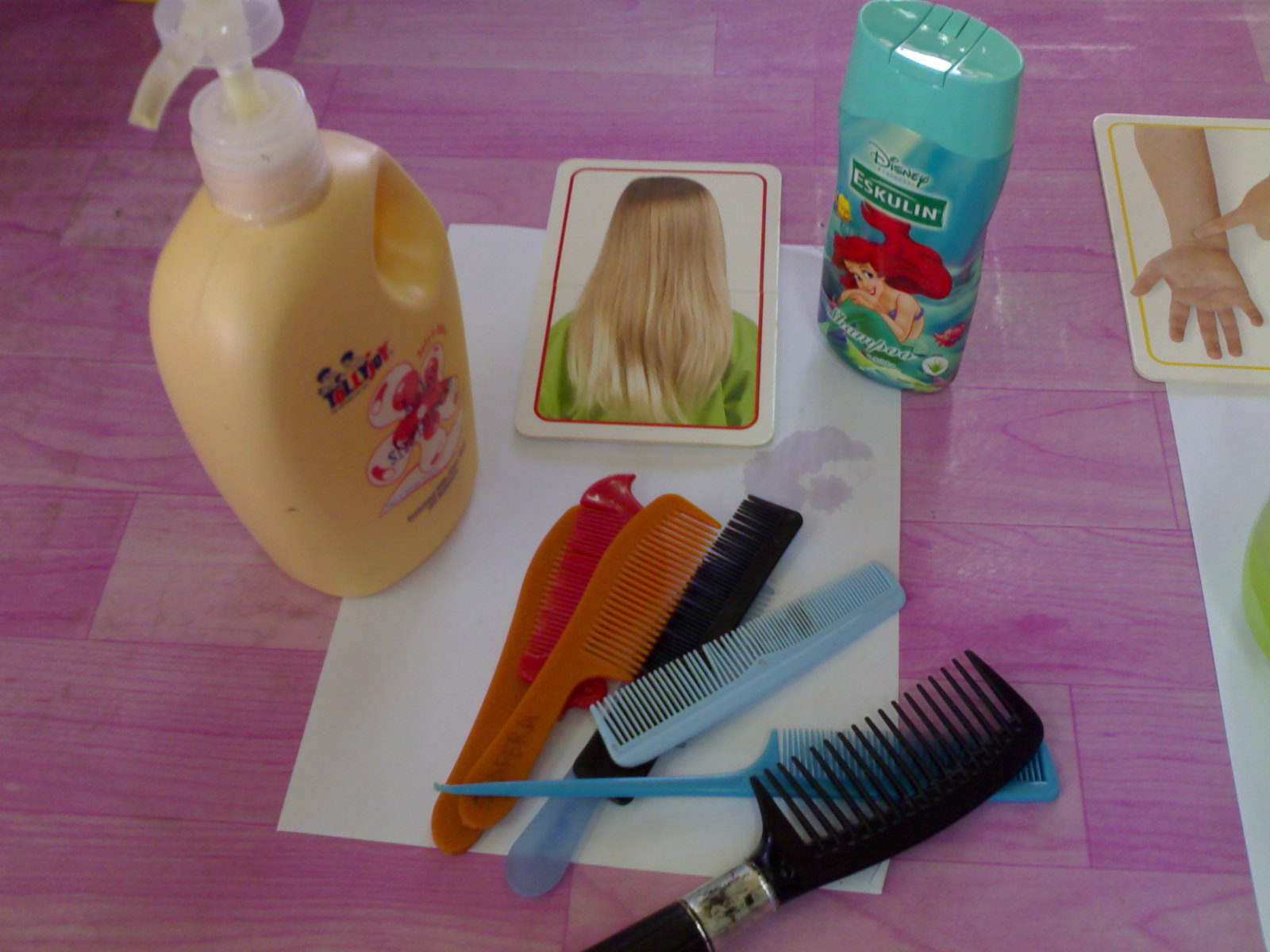 Prasekolah Alat Kebersihan Diri