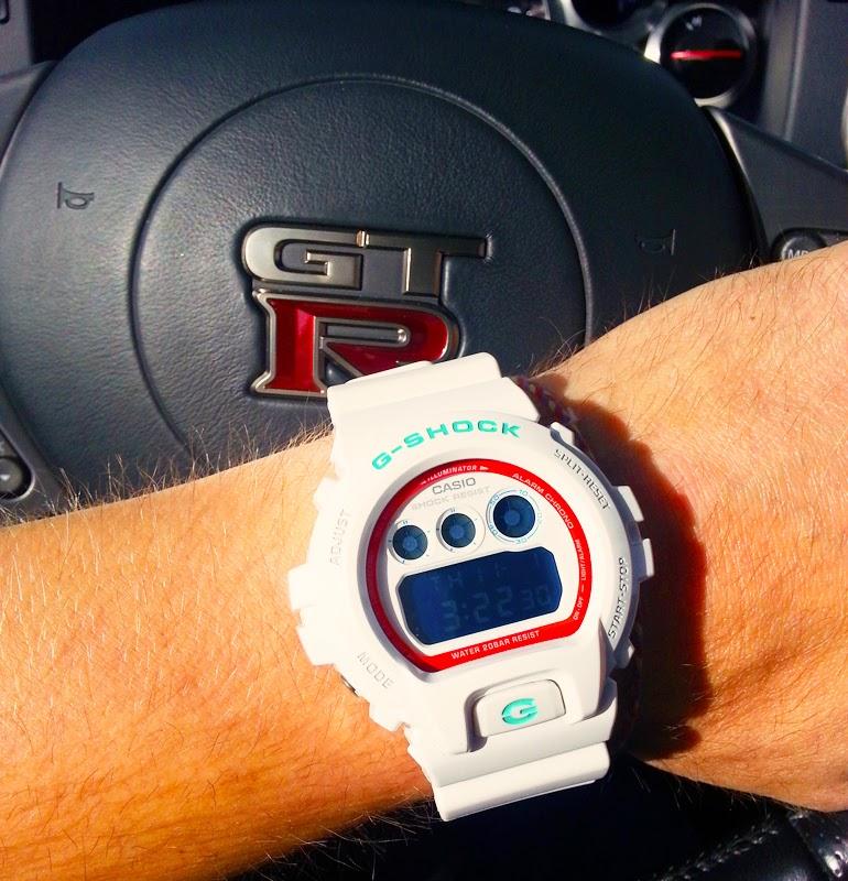Custom Pinoy Rides Gear for Gearheads Casio G-Shocks Nissan GT-R