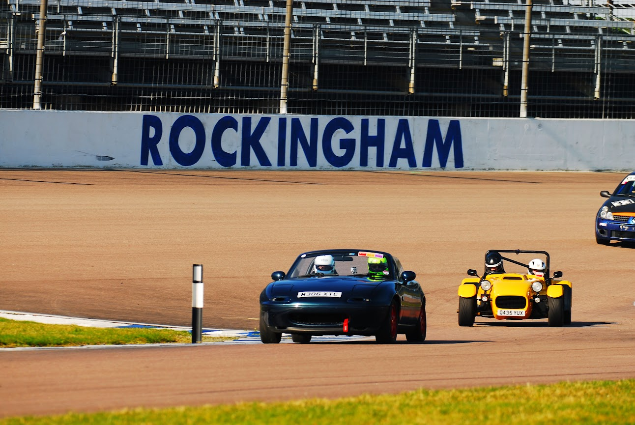 Rockingham Raceway Mazda MX5 RS LTD