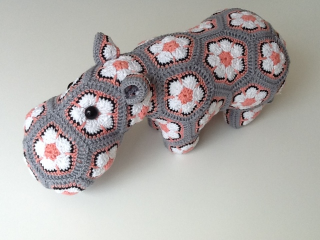 Mrs Cuddles Happy Hippo