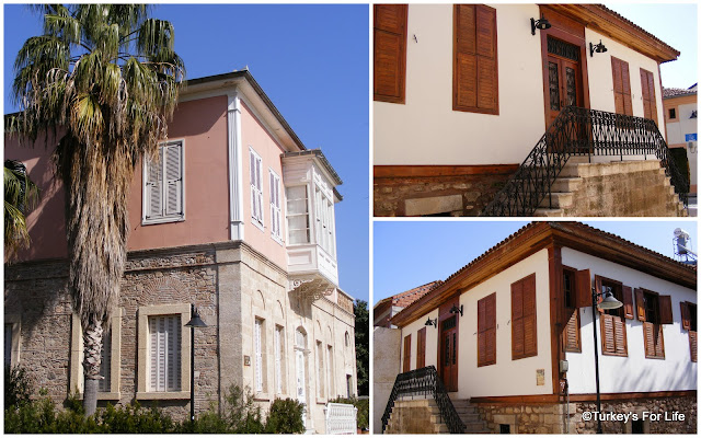 Restored buildings in Kaleiçi, Antalya