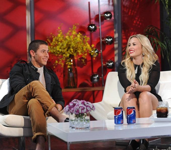 Nick Jonas y Demi Lovato  Amor o dulce amistad Nick Jonas Demi Lovato 2013