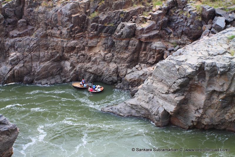 Coracles are the only things that survive in this Cauvery canyon