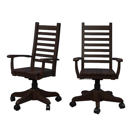 Horizon Office Chair in Twilight Quarter Sawn Oak