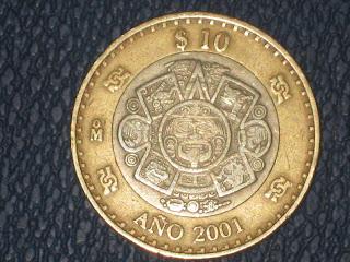 Mi coleccion de monedas 10 pesos del 2001 entrada del for Entradas 4 milenio