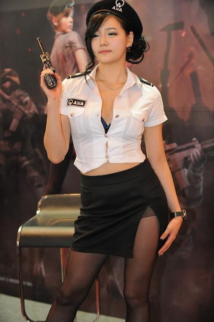 Megan rain security guard twistys