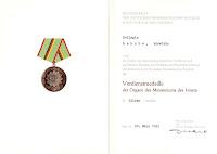 212b Verdienstmedaille der Organe des Ministeriums des Innern in Silber http://www.ddrmedailles.nl