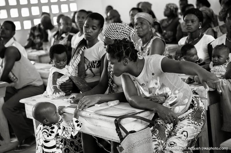 Nana Kofi escuela en Costa de Marfil