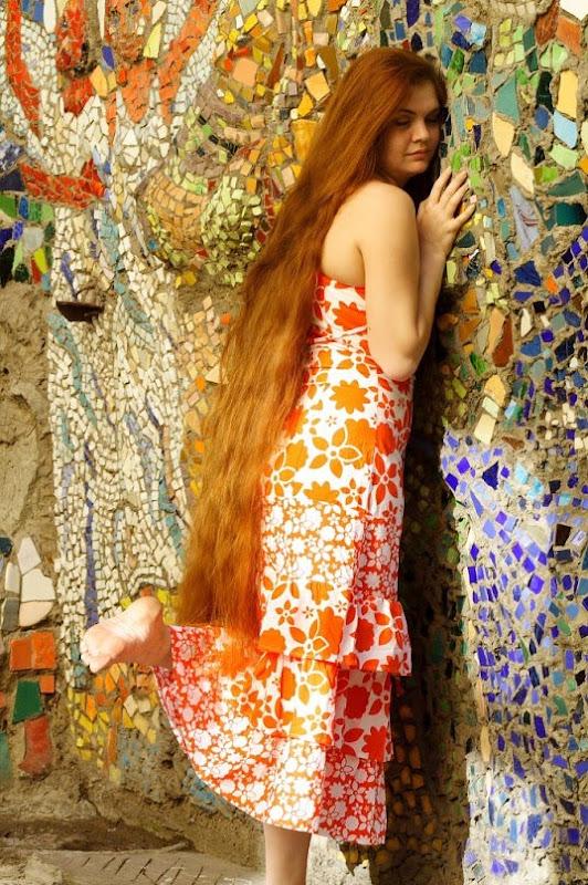long hair lover woman