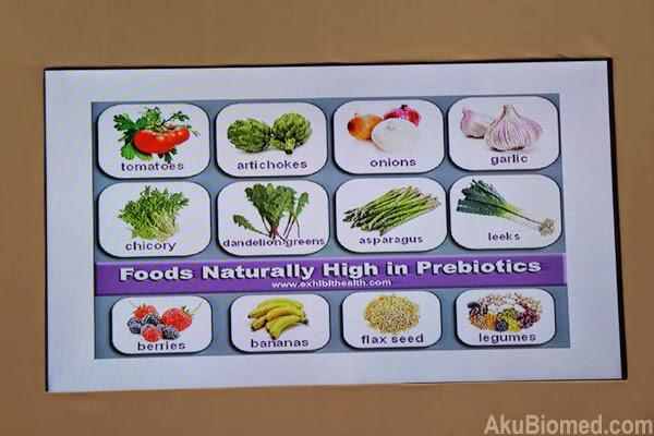 prebiotik semula jadi dalam makanan