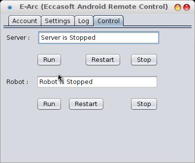 Server dan Robot