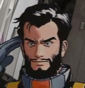 Shin Matsunaga (Gray Wolf) Gundam Evolve 9 UC 0087