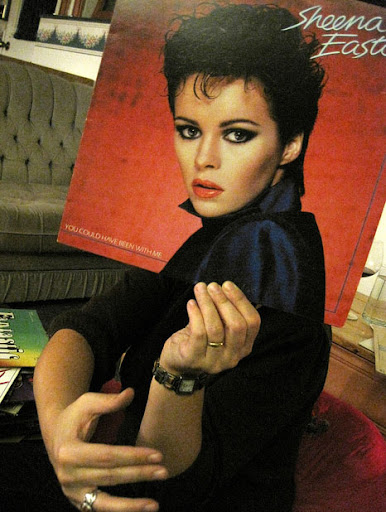 Sheena East sleeveface