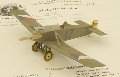 Avia BH-3 model kit