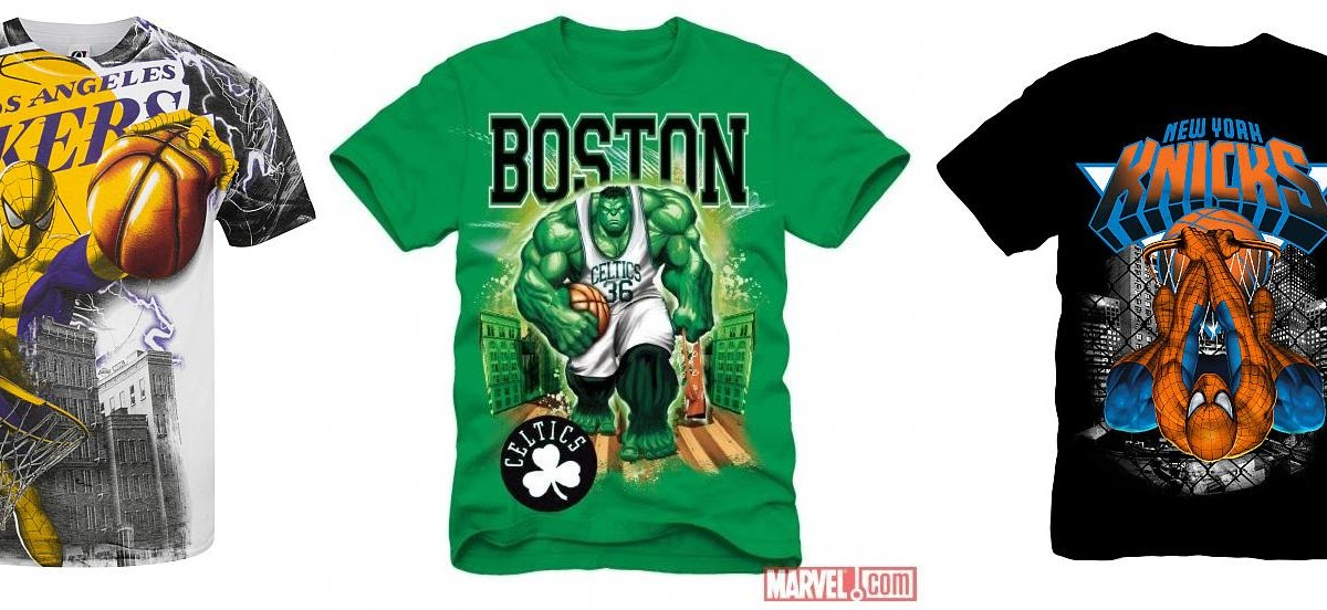 The Blot Says The Marvel X Nba Clothing Collection