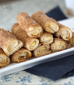 cream cheese rollups with cinnamon sugar