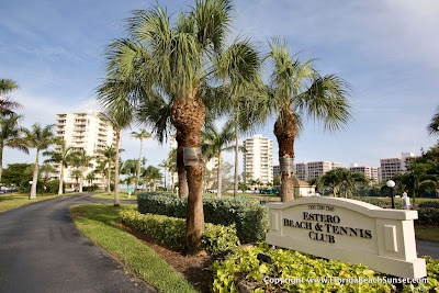 Front of Estero Beach & Tennis