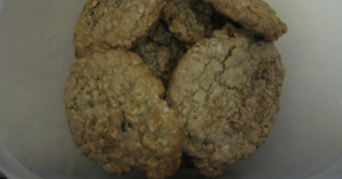 Lets Eat!!!!: Low Fat Chewy Chocolate Chip Oatmeal Cookies