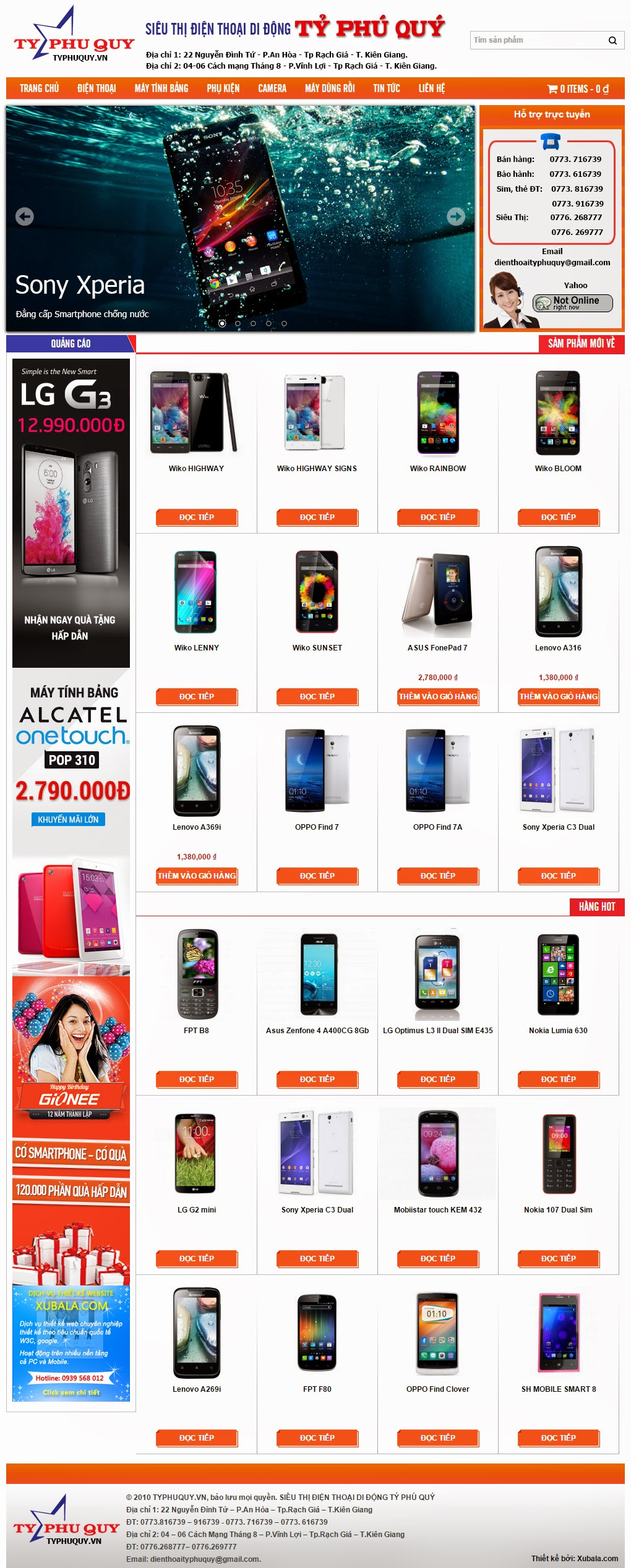 Ty Phu Quy Smartphone Store