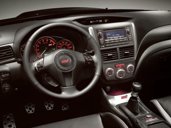 2013 Subaru Impreza WRX STI - Interior