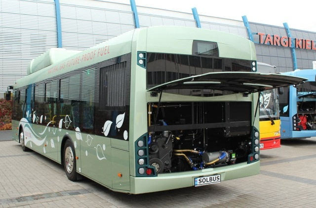TransExpo 2012. Solbus SM 12 CNG