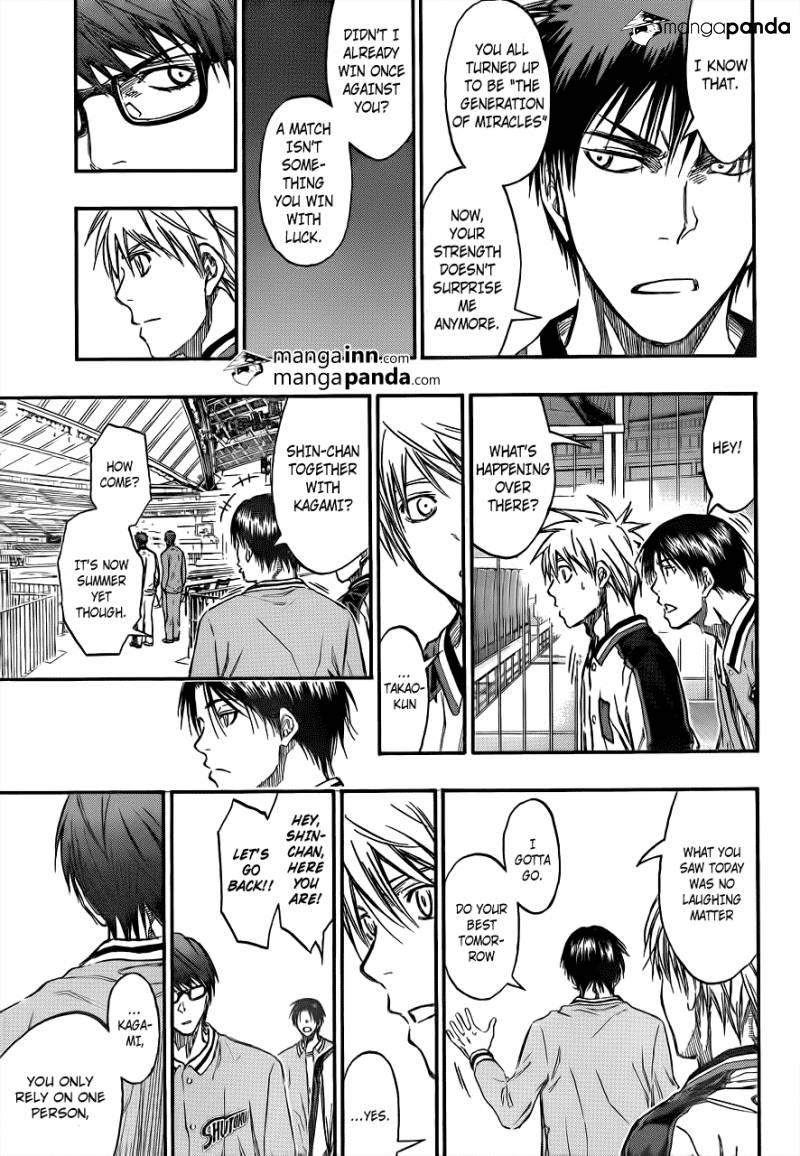 Kuroko no Basket Manga Chapter 203 - Image 19