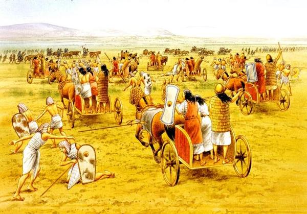 колесницы ближнего востока